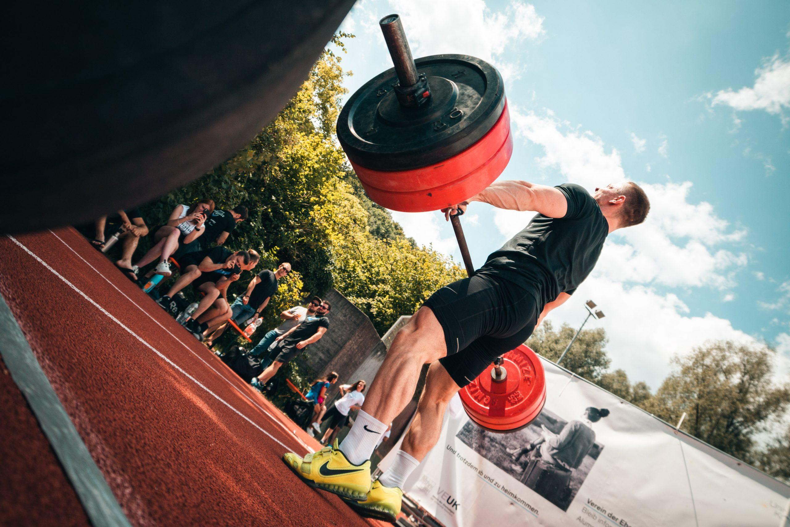 Outdoor Gewichtheben Konstanz